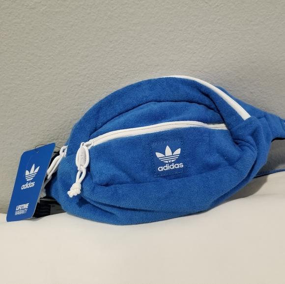 Adidas Originals Terry Waist Shoulder Fanny Pack